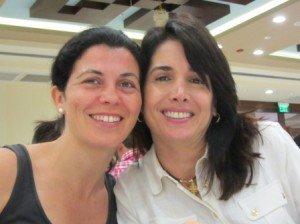 Claudia y Sonia
